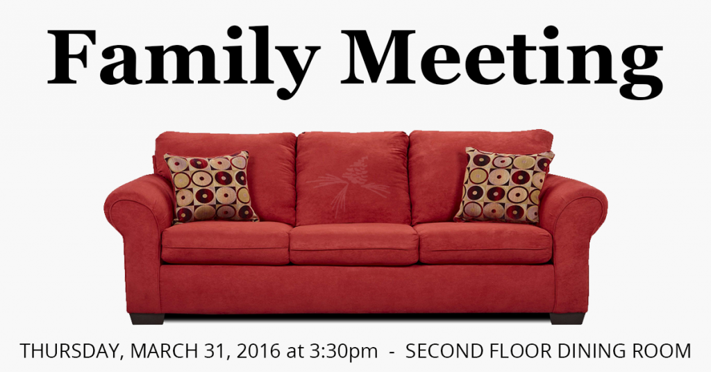Family Meeting - Pine Valley Community Village