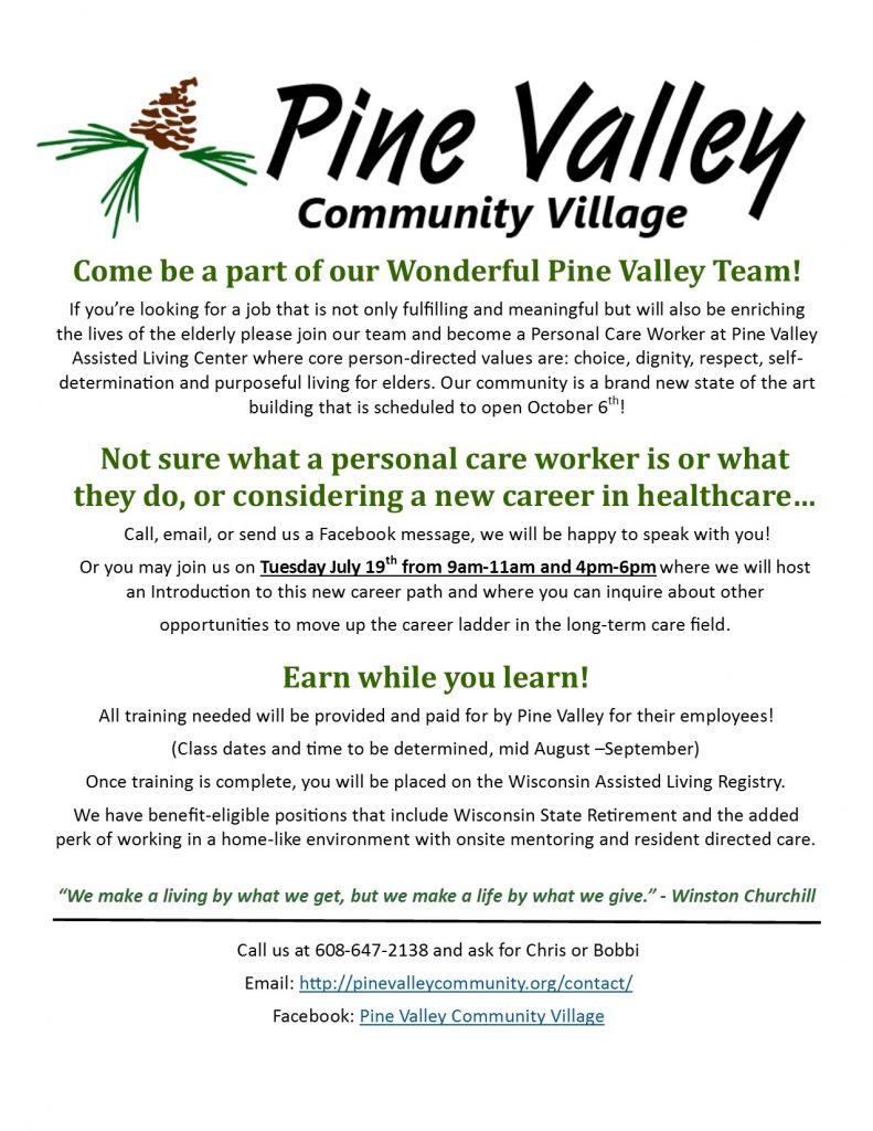 PvcvPcwAd - Pine Valley Community Village